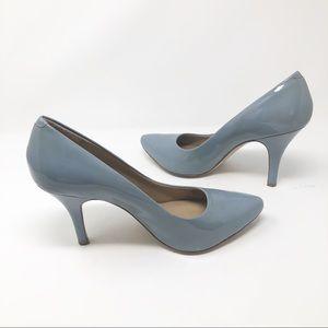 🧜🏼♀️Arturo Chiang Blue Patent Leather Heels